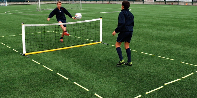 Different types of football - football tennis