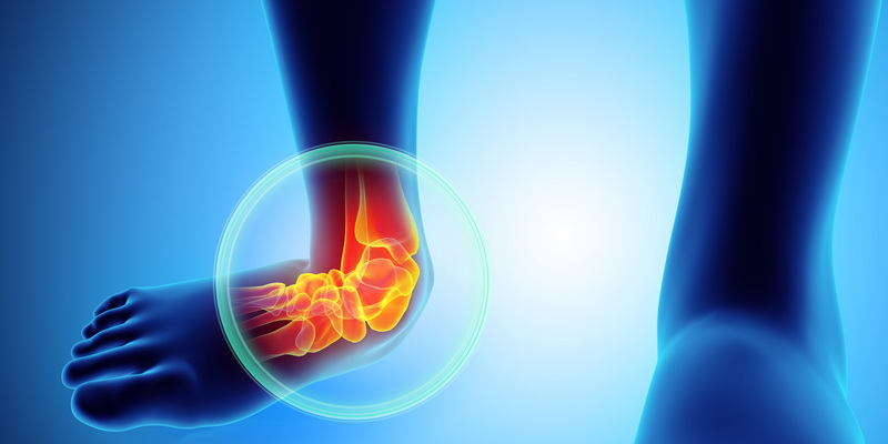 Most common football injuries - ankle