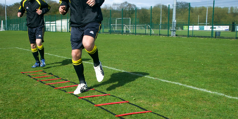 Best agility ladder drills for football - football player is running