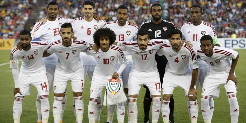 united arab emirates UAE national football team in UAE